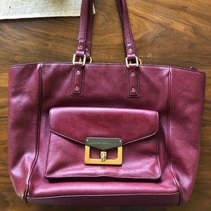 Marc by Marc Jacobs maroon purse
